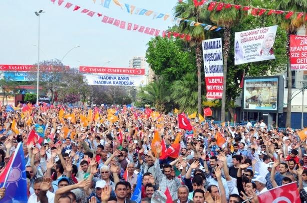 Davutoğlu Türkiye'yi il il gezdi 55