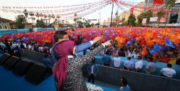 Davutoğlu Türkiye'yi il il gezdi 57