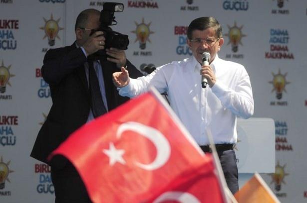 Davutoğlu Türkiye'yi il il gezdi 58