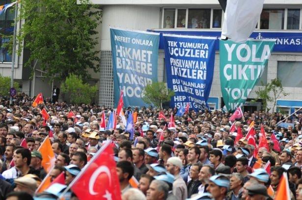 Davutoğlu Türkiye'yi il il gezdi 59