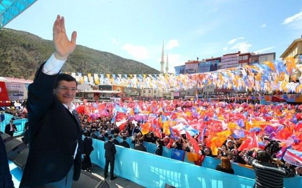 Davutoğlu Türkiye'yi il il gezdi 6