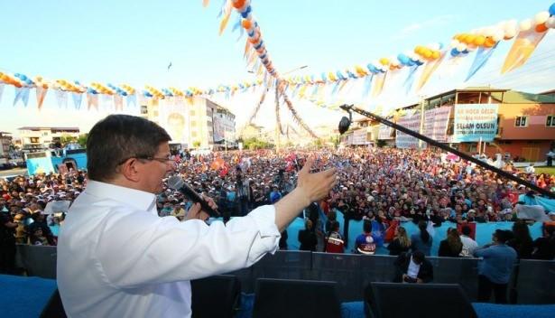 Davutoğlu Türkiye'yi il il gezdi 65