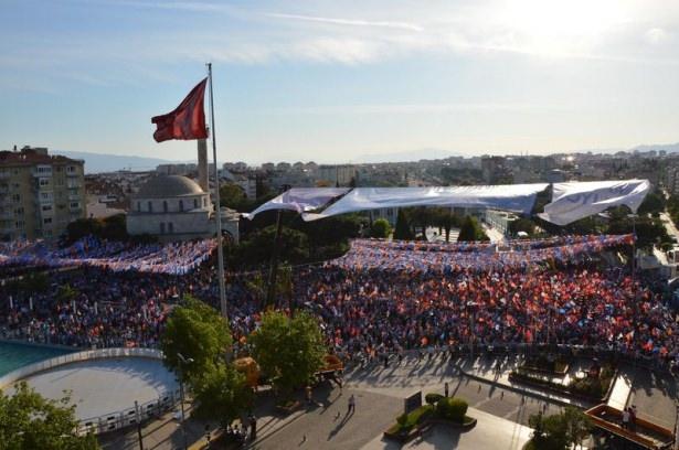 Davutoğlu Türkiye'yi il il gezdi 68