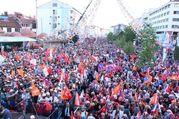 Davutoğlu Türkiye'yi il il gezdi 73