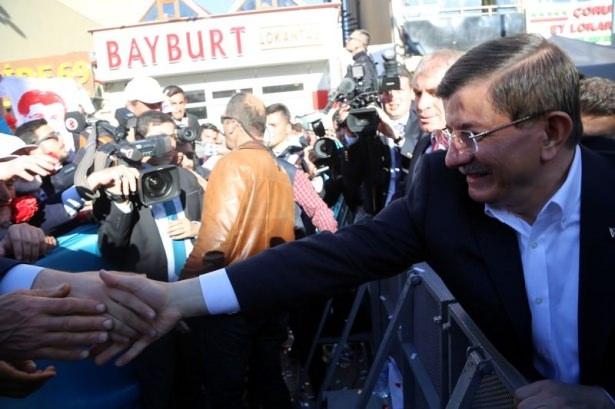 Davutoğlu Türkiye'yi il il gezdi 8