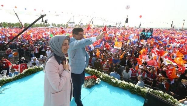 Davutoğlu Türkiye'yi il il gezdi 86