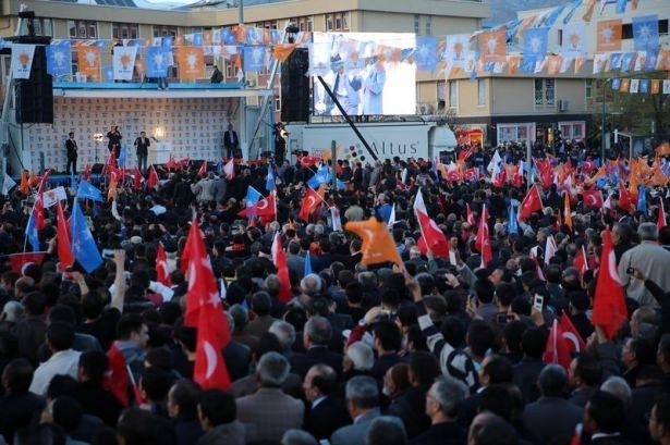 Davutoğlu Türkiye'yi il il gezdi 9