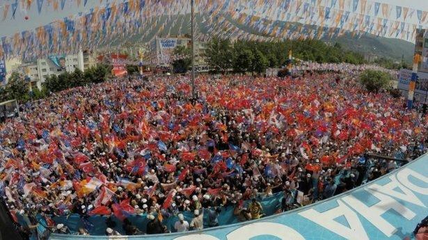 Davutoğlu Türkiye'yi il il gezdi 91