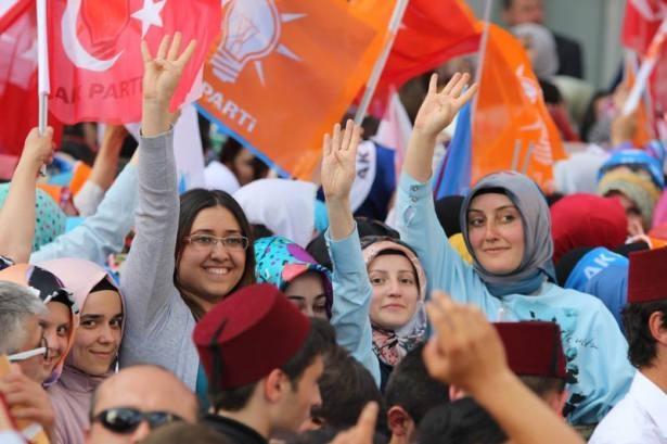 Davutoğlu Türkiye'yi il il gezdi 94