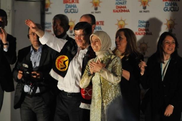 Davutoğlu Türkiye'yi il il gezdi 95