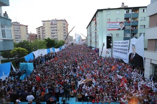 Davutoğlu Türkiye'yi il il gezdi 96