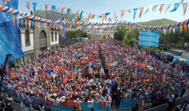 Davutoğlu Türkiye'yi il il gezdi 97