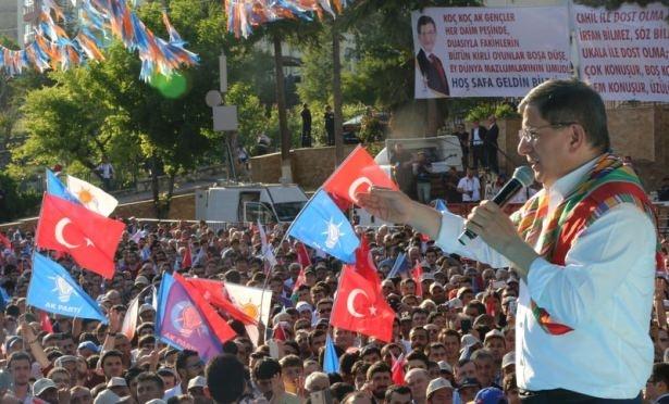 Davutoğlu Türkiye'yi il il gezdi 98