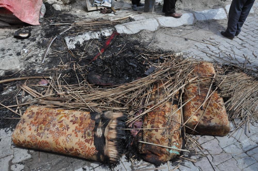 Yangında dumandan etkilenen kadın öldü 6