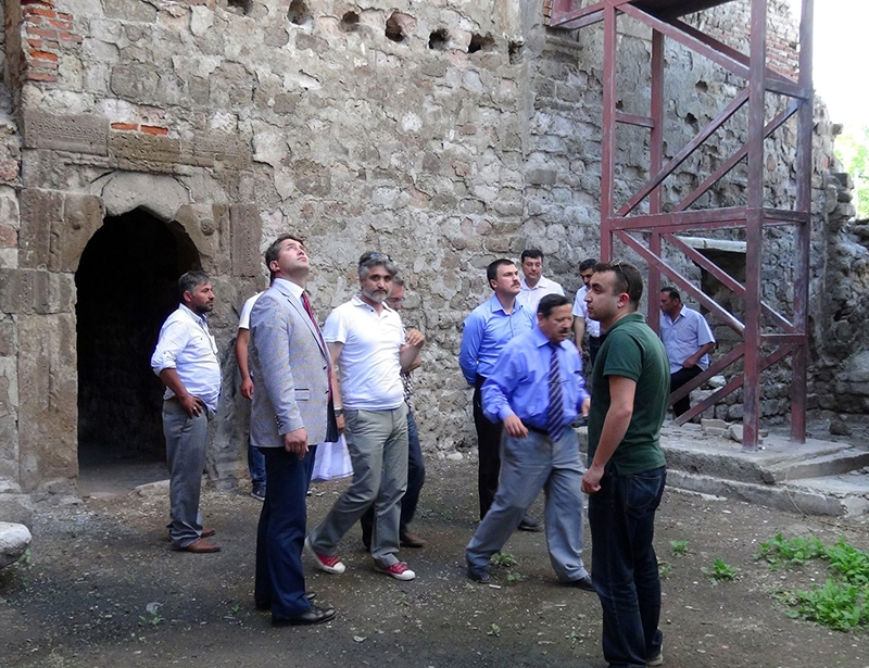 MELİK GAZİ HANKAHI'NA RESTORASYON 11
