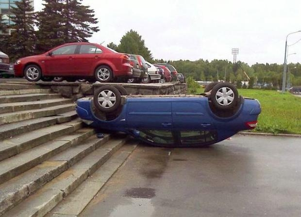 Dünyanın en ilginç trafik kazaları 11
