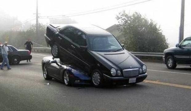 Dünyanın en ilginç trafik kazaları 14