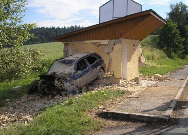 Dünyanın en ilginç trafik kazaları 29