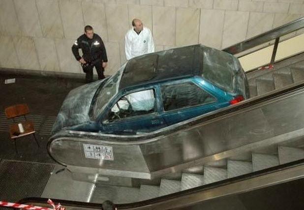 Dünyanın en ilginç trafik kazaları 3
