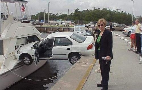 Dünyanın en ilginç trafik kazaları 38