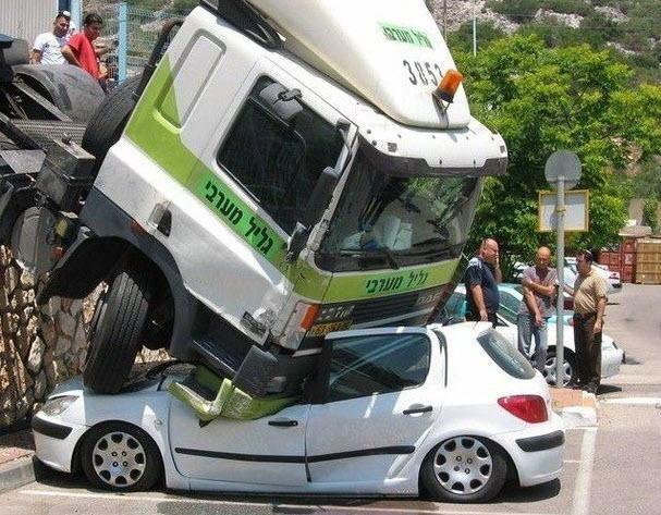 Dünyanın en ilginç trafik kazaları 4