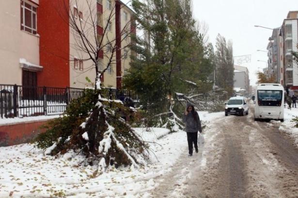 Öğrencilere ilk kar tatili Ardahan Göle'de 6