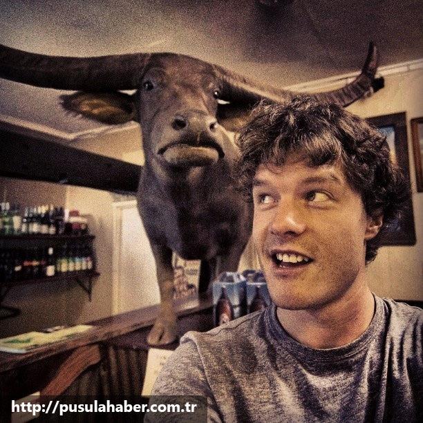 Çektiği Selfielerle İmrenilen Adam Allan Dixon 36