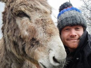 Çektiği Selfielerle İmrenilen Adam Allan Dixon