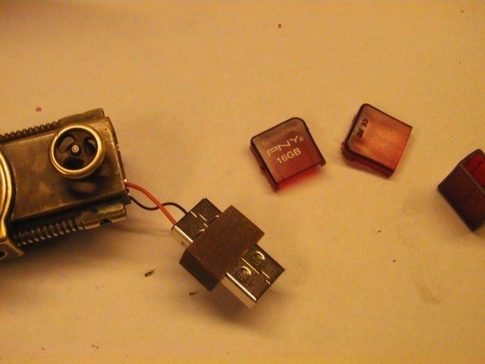 Evde USB Bellek Yapımı 30