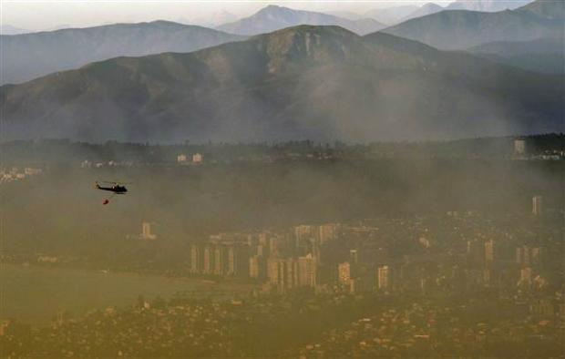 Şili'deki yangın kontrol edilemiyor 14