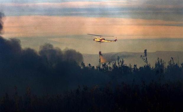 Şili'deki yangın kontrol edilemiyor 16