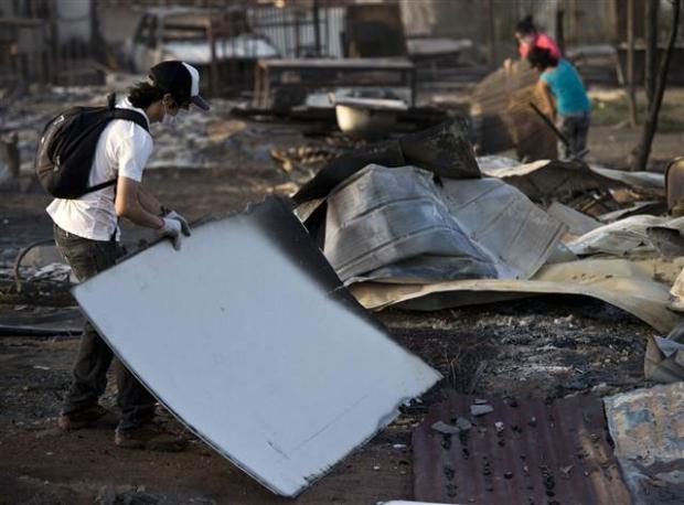 Şili'deki yangın kontrol edilemiyor 23