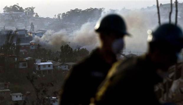 Şili'deki yangın kontrol edilemiyor 27