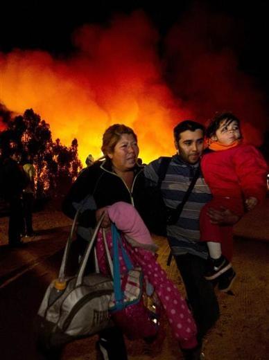 Şili'deki yangın kontrol edilemiyor 3