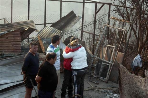Şili'deki yangın kontrol edilemiyor 4