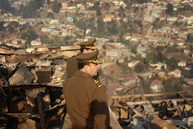 Şili'deki yangın kontrol edilemiyor 6