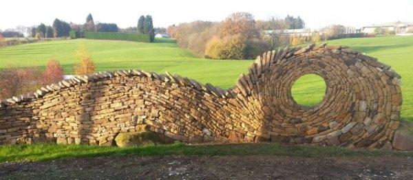Taşlarla yapılmış bir birinden güzel yapıtlar 1