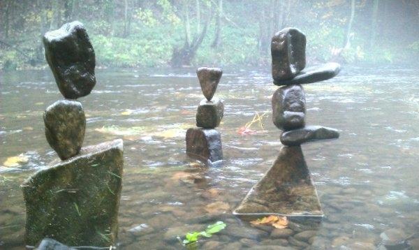 Taşlarla yapılmış bir birinden güzel yapıtlar 2