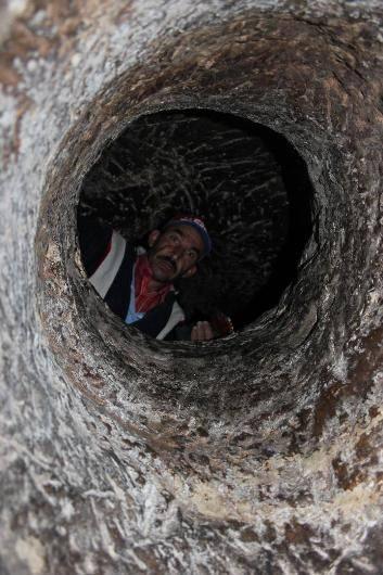 Nevşehir'de yeraltı şehri bulundu 13