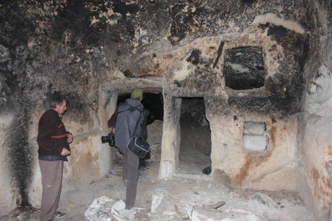 Nevşehir'de yeraltı şehri bulundu 15