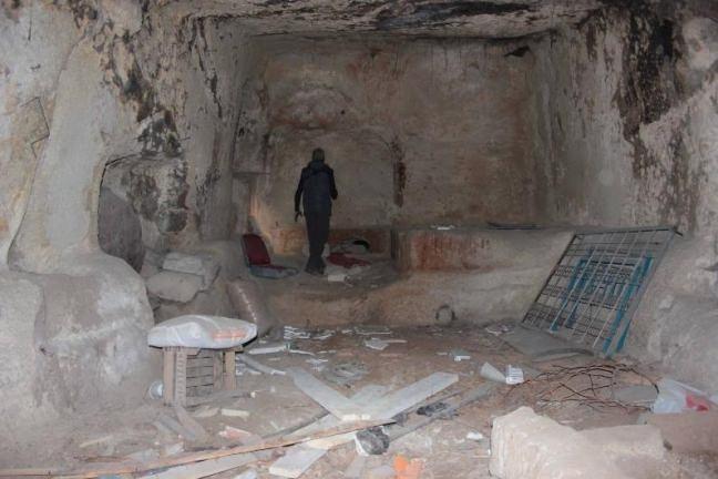Nevşehir'de yeraltı şehri bulundu 17