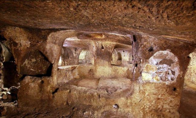 Nevşehir'de yeraltı şehri bulundu 2