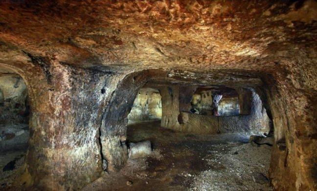 Nevşehir'de yeraltı şehri bulundu 3