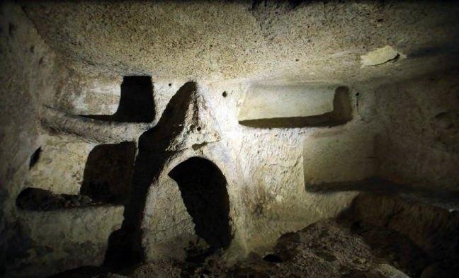 Nevşehir'de yeraltı şehri bulundu 4