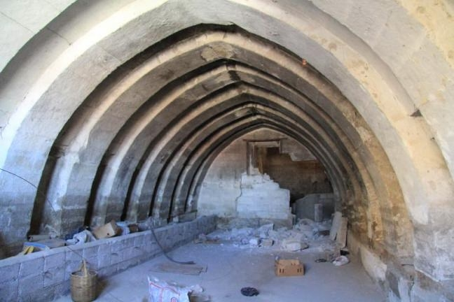 Nevşehir'de yeraltı şehri bulundu 7