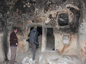 Nevşehir'de yeraltı şehri bulundu