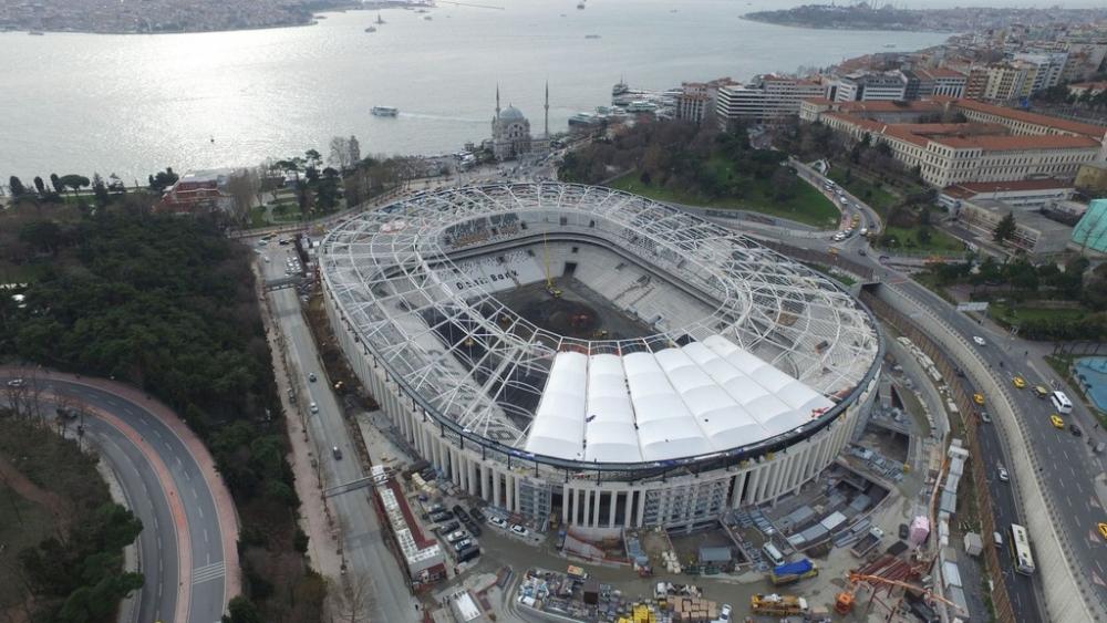 Vodafone Arena'da Beşiktaş yazısı göründü 5