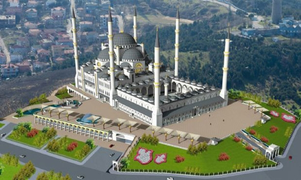 Çamlıca Cami'nin son hali 3