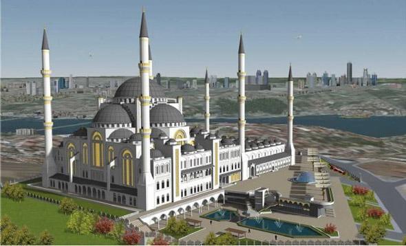 Çamlıca Cami'nin son hali 4