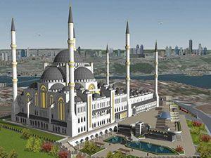 Çamlıca Cami'nin son hali